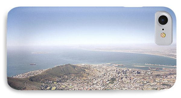 Cape Town Panorama IPhone Case by Shaun Higson