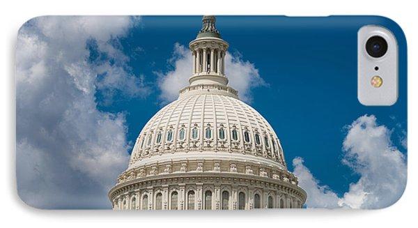 Capital Dome Washington D C Phone Case by Steve Gadomski