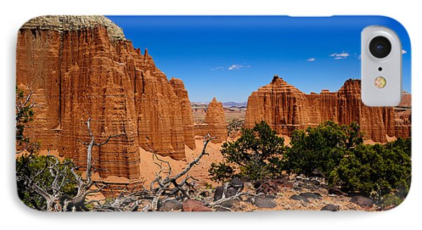 Capital Reef IPhone Case by Donald Fink