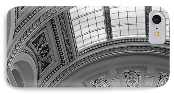Capitol Architecture - Bw Phone Case by Jenny Hudson