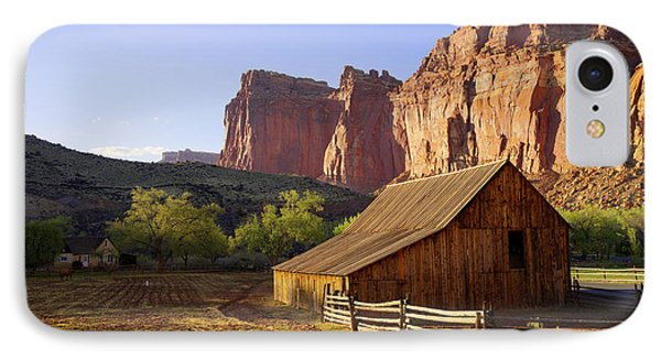 Capitol Barn IPhone Case by Chad Dutson
