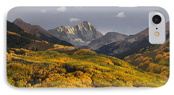 IPhone Case featuring the photograph Capitol Peak Panorama by Aaron Spong