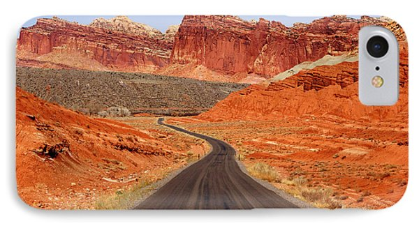 Capitol Reef Road Vii IPhone Case