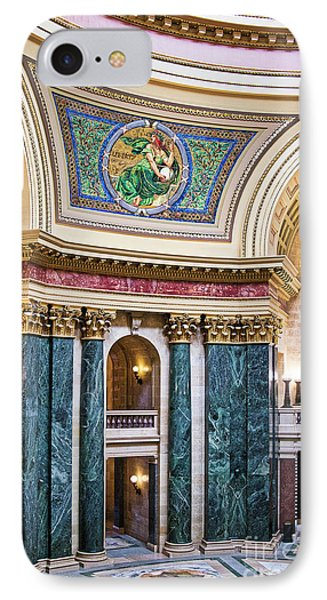 Capitol - Madison - Wisconsin IPhone Case by Steven Ralser