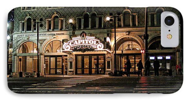 IPhone Case featuring the photograph Capitol Theatre by Ely Arsha