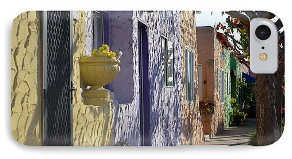 Capitola Beach Homes IPhone Case by Alex King