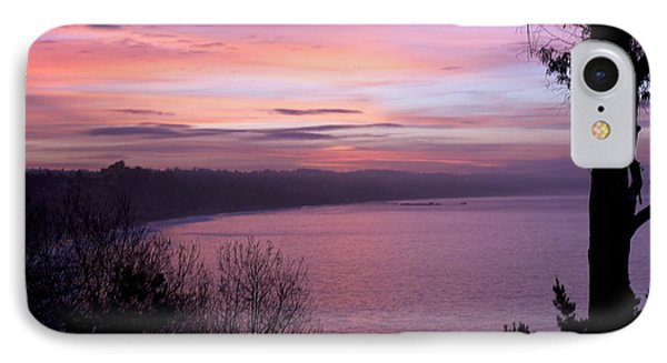 Capitola Bluffs IPhone Case by Lora Lee Chapman
