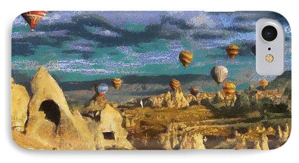 Cappadocia Ballons Fiesta IPhone Case by Georgi Dimitrov