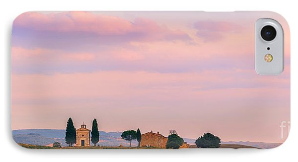 Cappella Della Madonna Di Vitaleta IPhone Case by Henk Meijer Photography
