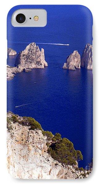 Capri Italy Seascape IPhone Case