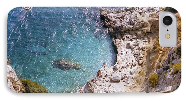 Capri Ocean Coast IPhone Case by Ted Pollard