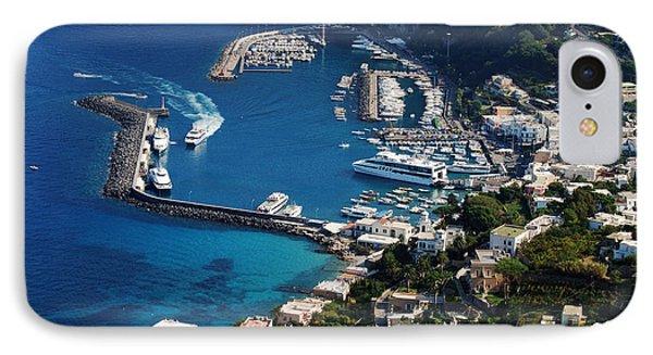 Capri Town IPhone Case