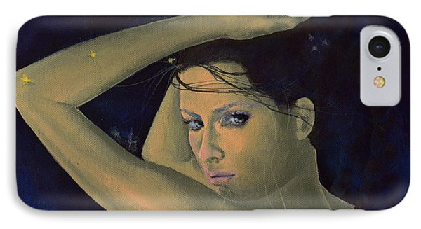 Capricorn From Zodiac Series Phone Case by Dorina  Costras