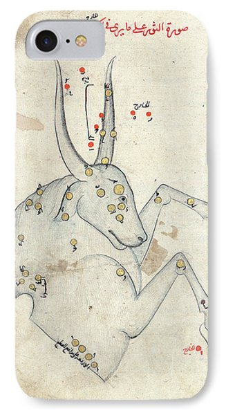Capricornus Constellation IPhone Case by Library Of Congress