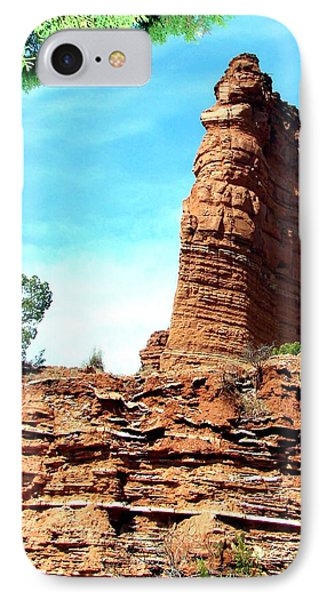 IPhone Case featuring the photograph Caprock Canyon Red by Linda Cox