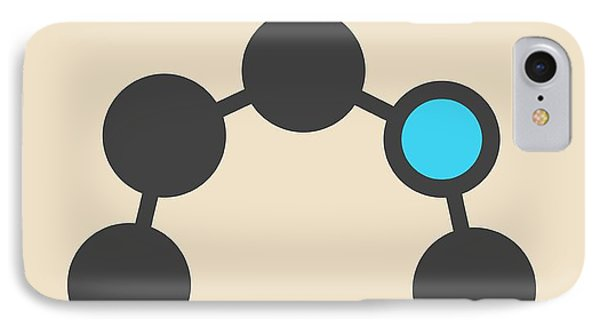 Caprolactam Molecule IPhone Case by Molekuul