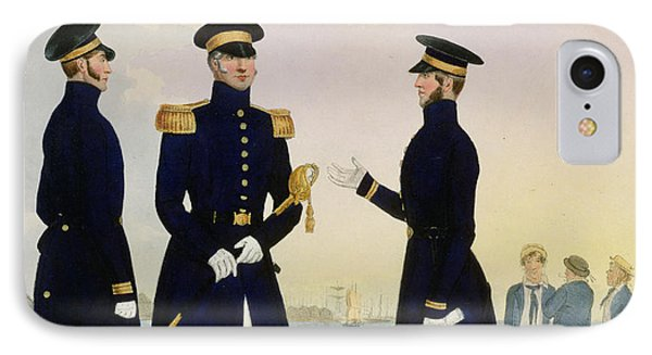 Captain Flag Officer And Commander IPhone Case