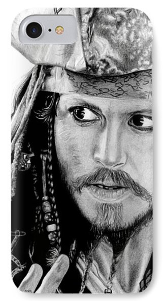 Captain Jack Sparrow Phone Case by Kayleigh Semeniuk