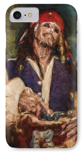 Captain Jack Sparrow IPhone Case by Vivian Frerichs
