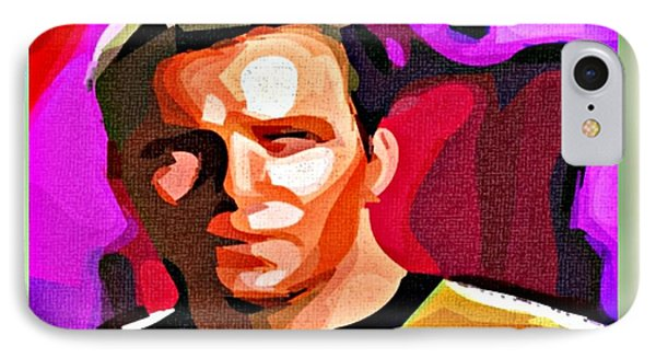 Captain James T Kirk Phone Case by John Malone