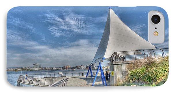 Captain Scott Exhibition Sails Phone Case by Steve Purnell