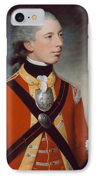 Captain Thomas Hewitt, 10th Regiment IPhone Case by William Tate