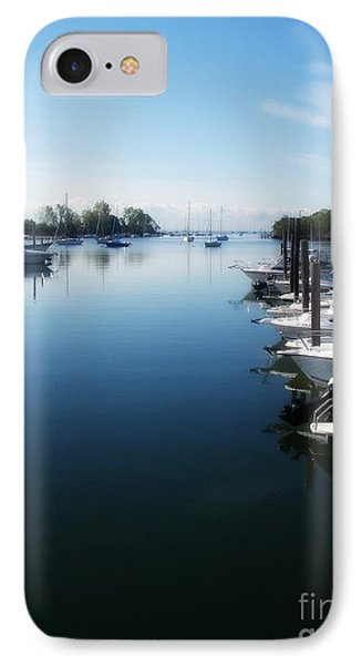 IPhone Case featuring the photograph Captain's Cove by Kristine Nora