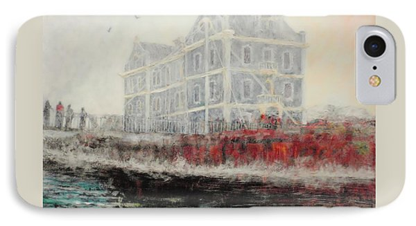 Captains Manor In The Fog Phone Case by Michael Durst