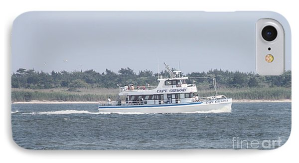 Captree's Captain Gregory Heading Out To Sea IPhone Case by John Telfer