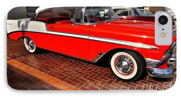 Car - Bel Air - Red Phone Case by Liane Wright