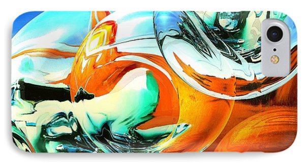 Car Fandango - Abstract Art IPhone Case by Art America Gallery Peter Potter