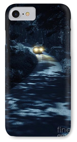 Car In The Woods IPhone Case by Carlos Caetano