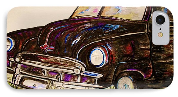 Car Of Character IPhone Case by Eloise Schneider