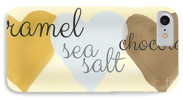 Caramel Sea Salt And Chocolate IPhone Case