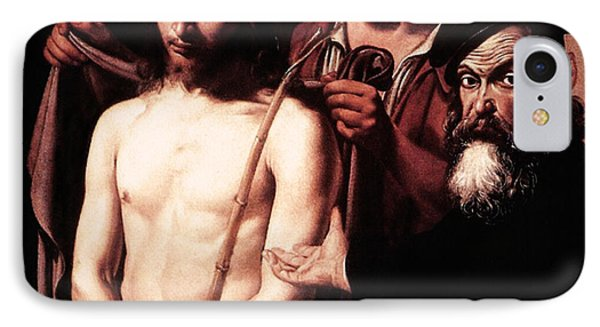 Caravaggio Eccehomo IPhone Case by Caravaggio