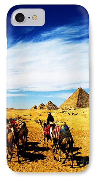 Caravan Of Camels IPhone Case by Alison Tomich