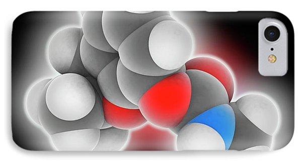 Carbofuran Pesticide Molecule IPhone Case by Laguna Design