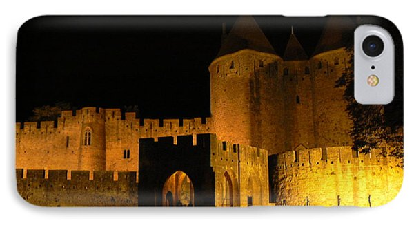 Carcassonne At Night IPhone Case by France  Art