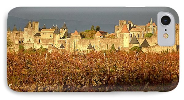 Carcassonne In Fall IPhone Case by France  Art