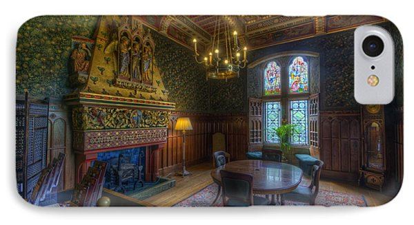 Cardiff Castle Apartment Dining Room IPhone Case