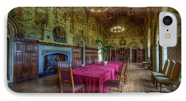 Cardiff Castle Dining Hall IPhone Case