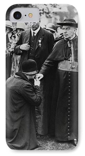 Cardinal Bourne's Hand Kissed IPhone Case