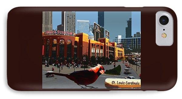 Cardinal Town IPhone Case by John Freidenberg
