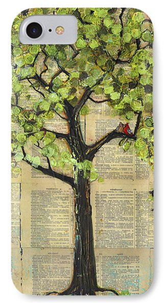Cardinals In A Tree IPhone Case