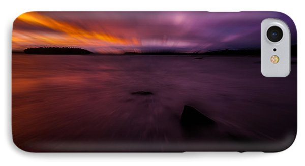 Careening Through Time IPhone Case by Susan Cole Kelly Impressions