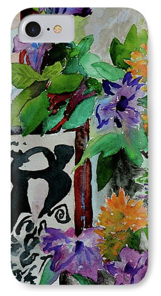 IPhone Case featuring the painting Carefree by Beverley Harper Tinsley