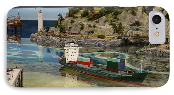 Cargo Ship IPhone Case