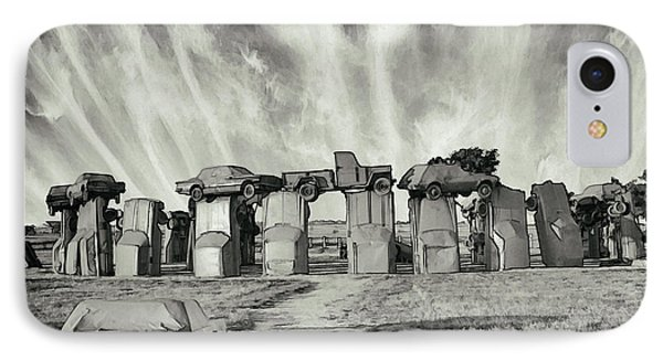 Carhenge Revival IPhone Case