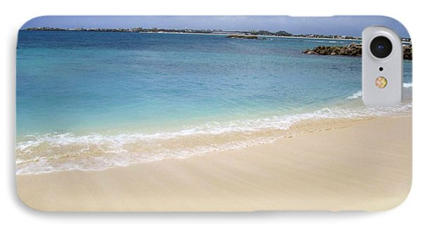 IPhone Case featuring the photograph Caribbean Beach Front by Fiona Kennard