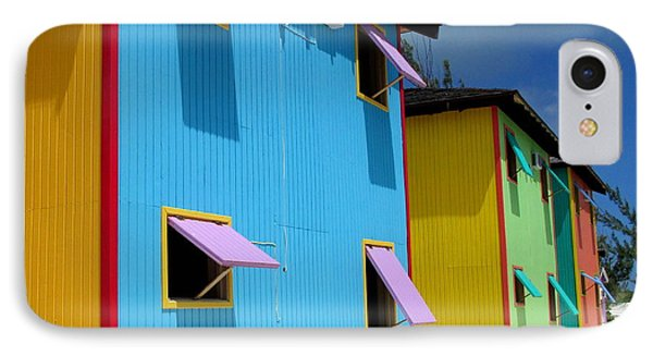 Caribbean Color IPhone Case by Randall Weidner